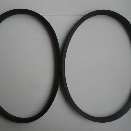 2 Replacement Kubota T1600 PTO Belts 66091-25090A Lawnmower