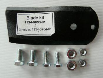 Genuine Stiga Mower Blade & Bolt Set 1134-9053-01 85cm 102cm 121cm Villa 102m