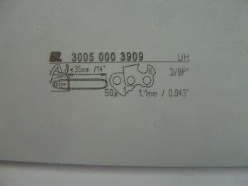 """STIHL 14"""" BAR FITS STIHL 009,017.018,019T,023 50DL,3/8 PITCH X 1.1mm x 043"""
