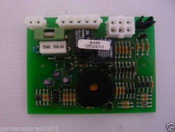 Mountfield/ Castelgarden/ Twincut/ Stiga/ Alpina Circuit Board P/N 125722410/1 J92