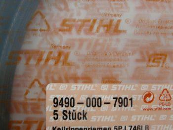 Genuine Stihl Ts410 Off Saw Drive Belt P/N: 9490-000-7901 Fits Model Ts410